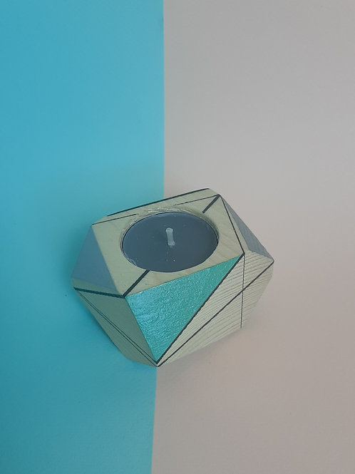 Candle holder Turquoise