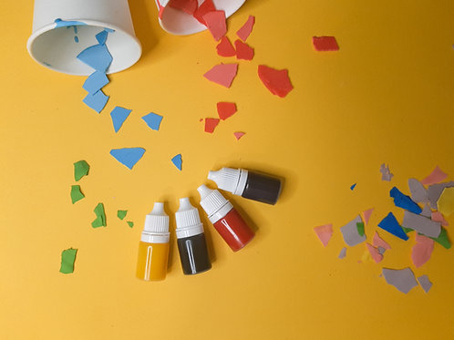 Terrazzo pigments, colours for acrylic resin