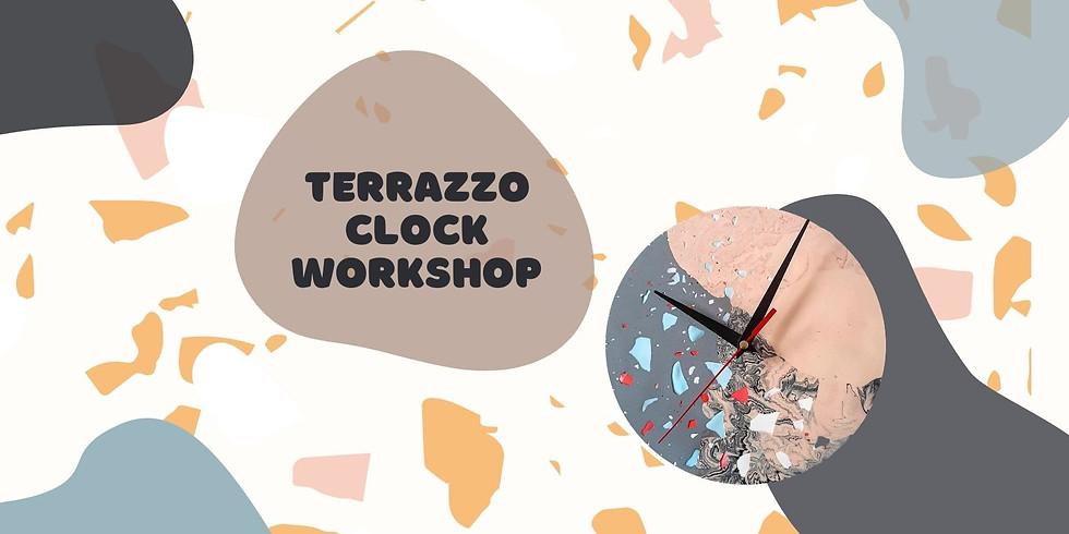 Terrazzo Clock Workshop