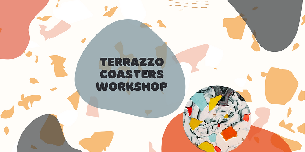 Terrazzo Coasters Workshop