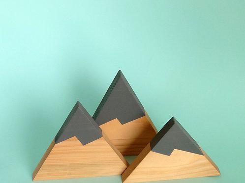 Three Grey Peaks