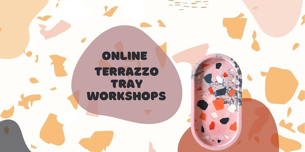 Online Terrazzo Tray Workshop