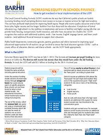 Local Control Funding Formula Fact Sheet