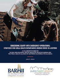Ensuring equity in emergency response