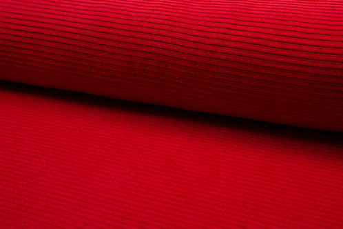 JERSEY CORDUROY ROSSO