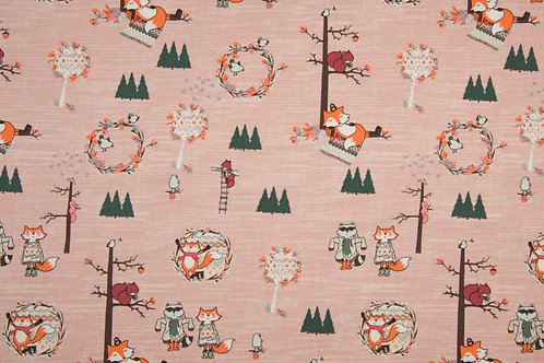 JERSEY FALL FOREST ROSA