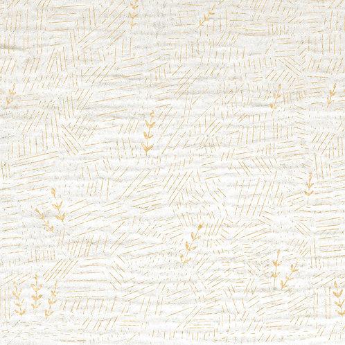 MUSSOLA DI COTONE GOLD MG4 - COTTON FLOWER