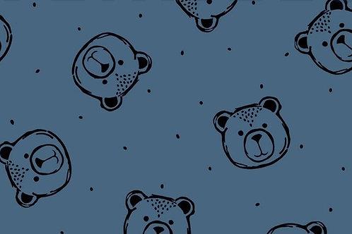 GOTS - FELPA INVERNALE BEAR JEANS
