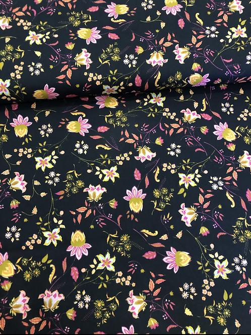 COTONE POPELIN - LOVELY FLOWERS