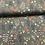 Thumbnail: COTONE POPELIN BIOLOGICO - MEDIUM FLOWER DUSTY MINT