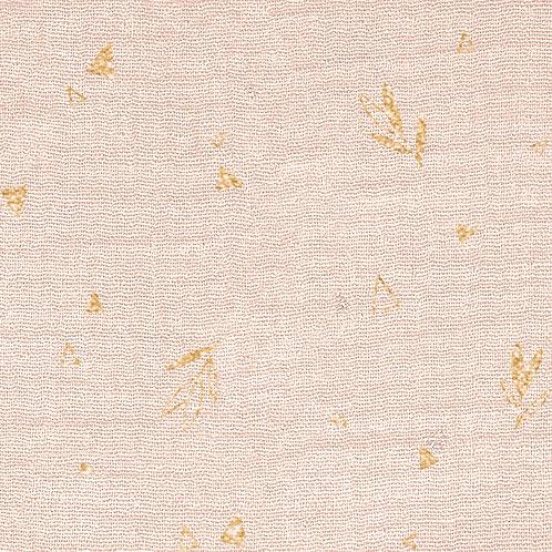 MUSSOLA DI COTONE GOLD MG2 - LAMAS FLOWER
