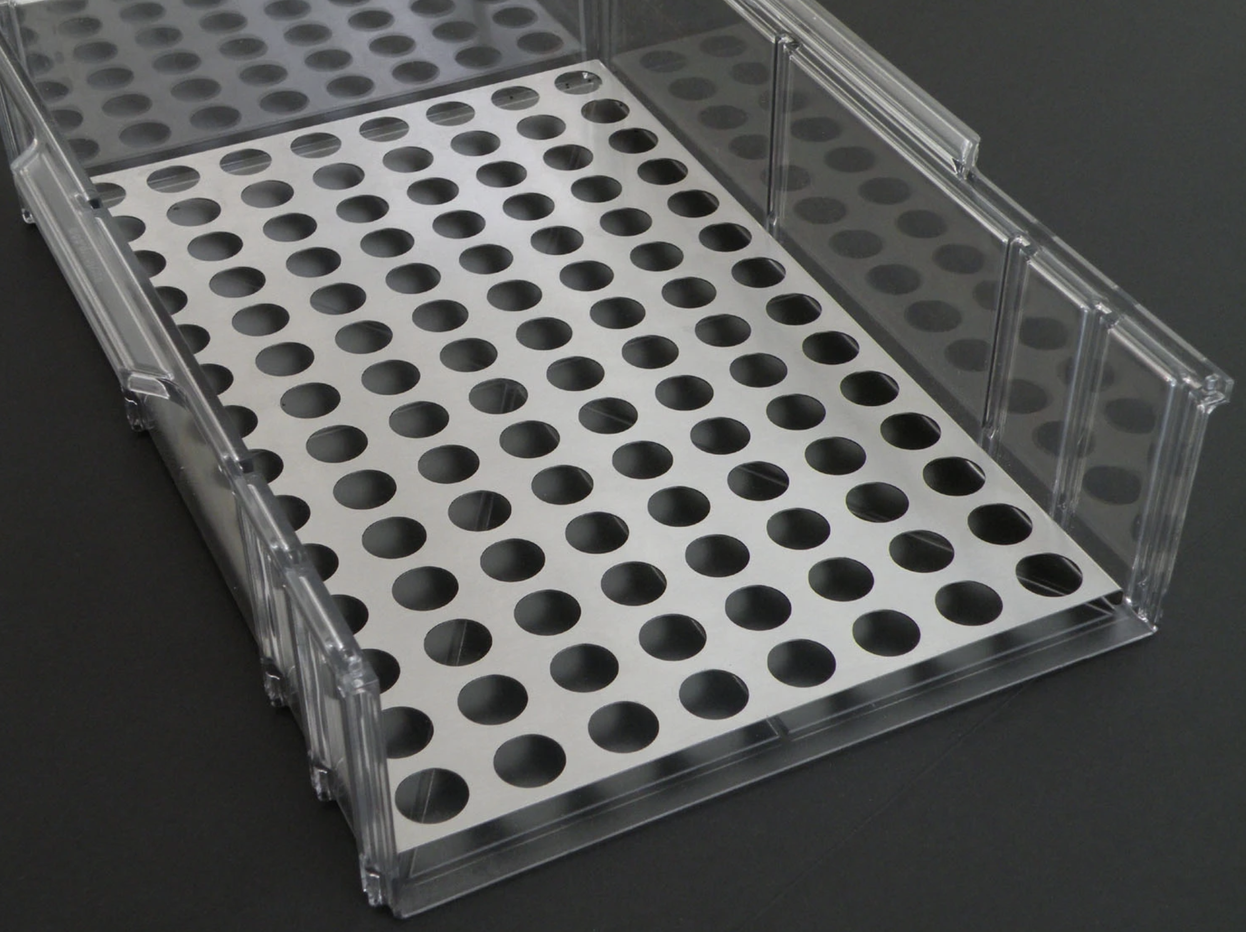 Vial Tray with Vial Placement