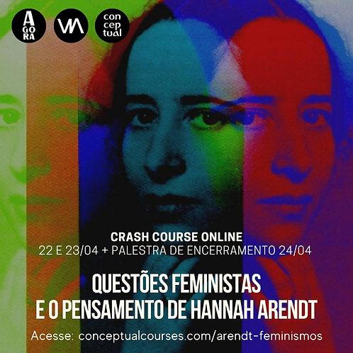 Questões feministas e o pensamento de Hannah Arendt