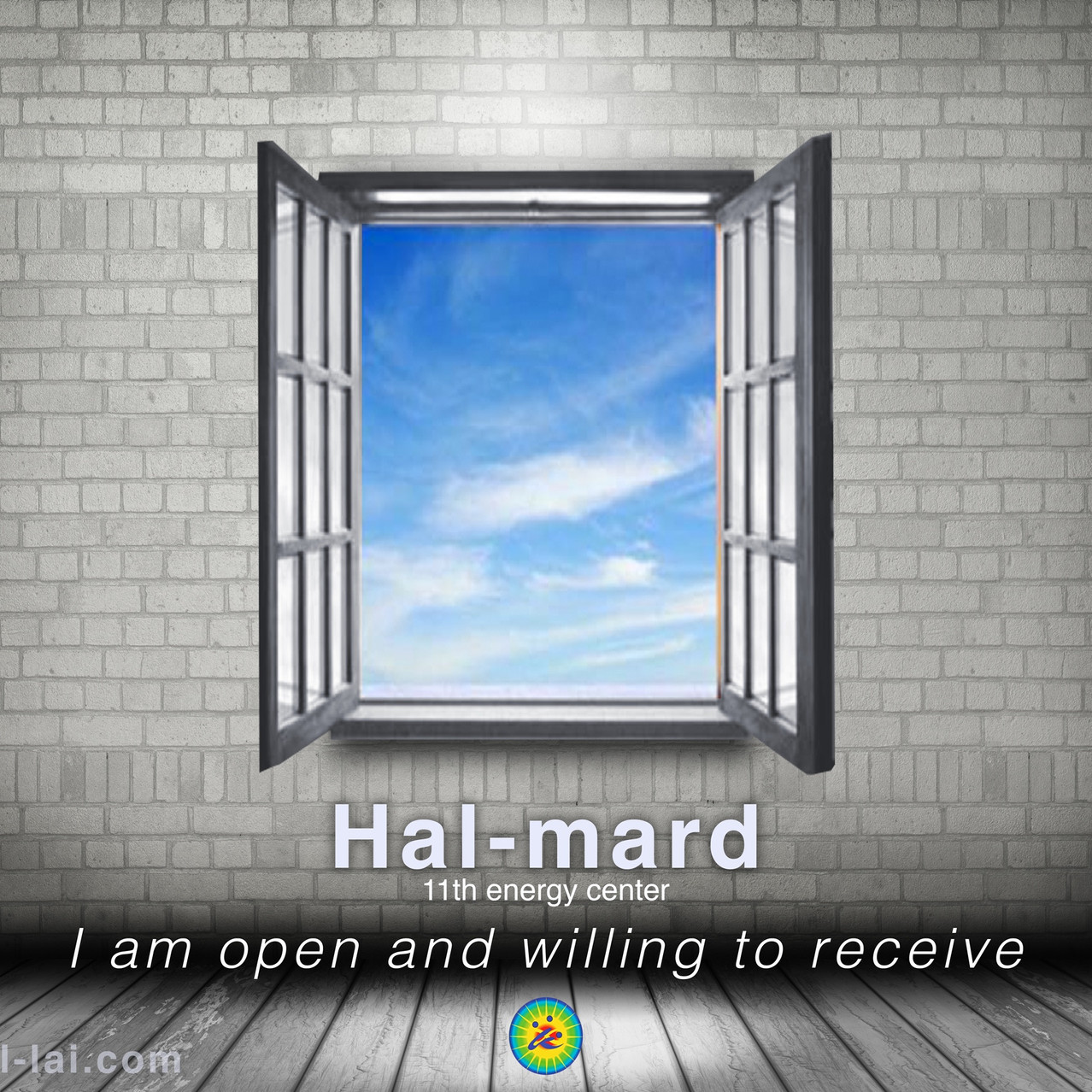 11th Chakra in the Hal-lai Healing System. Doorway into inspired ideas and mastery!
