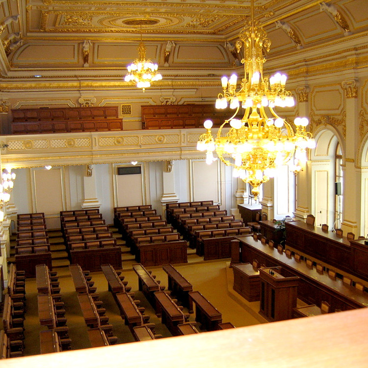 Demagogie a demokracie - přednáška Poslanecká sněmovna ČR