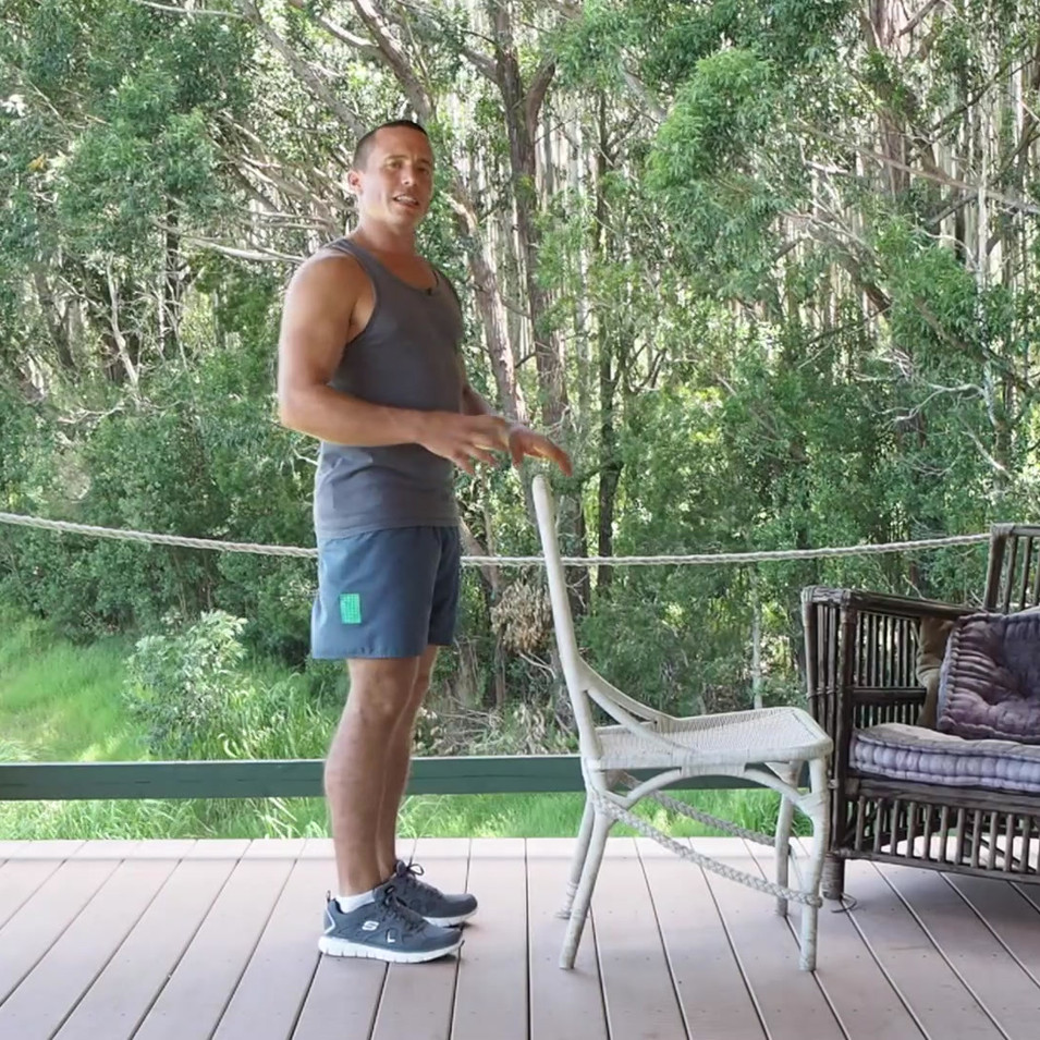 Desk Exercise Calf Raises