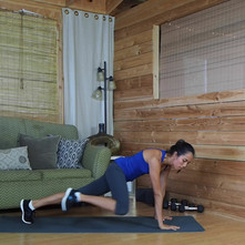 Plank with Knee Drive