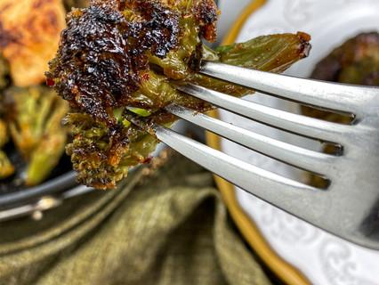 Chili Lime Mahi-Mahi with Blackened Broccoli