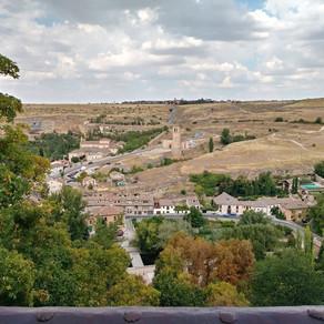 Spain.. Along to Segovia