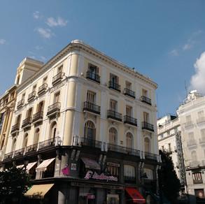 Tip Pepe Square in Madrid
