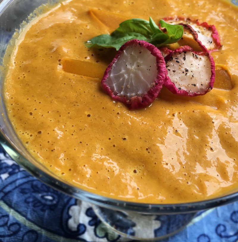 Great food, tasty vegetarian soup recipes in a flash and gardening basics