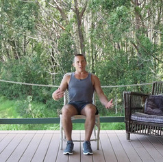 Desk Exercise Seated Leg Lifts