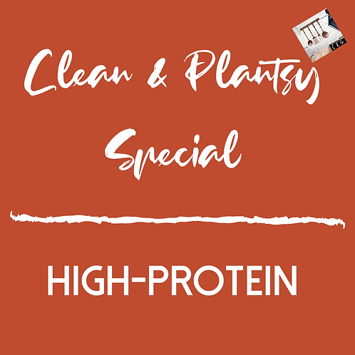 Clean & Plantsy Specialty High-Protein Menu Plan