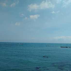 Barcelona Spain Mediterranean Sea