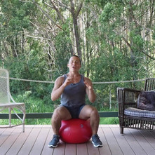 Desk Exercise Fit Stability Ball