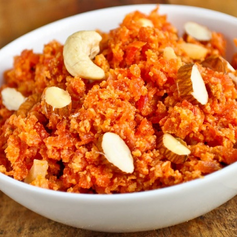 Sweet and Creamy Indian Carrot Pudding.p