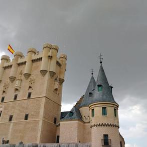 Alcázar of Segovia in Spain