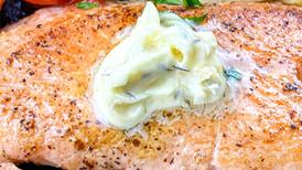 Crispy Salmon in Herb Butter