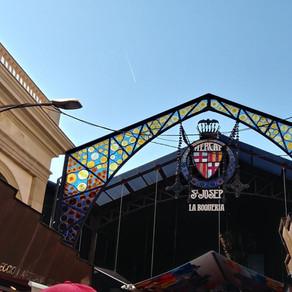 Spain.. La Boqueria Market in Barcelona