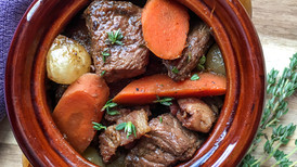 Braised Beef Burgundy Stew