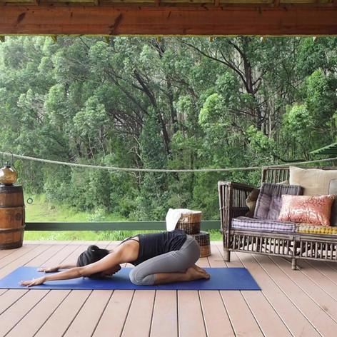 Yoga-Child's Pose