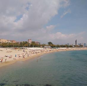 Barcelona Spain Playa de Llevant Beach