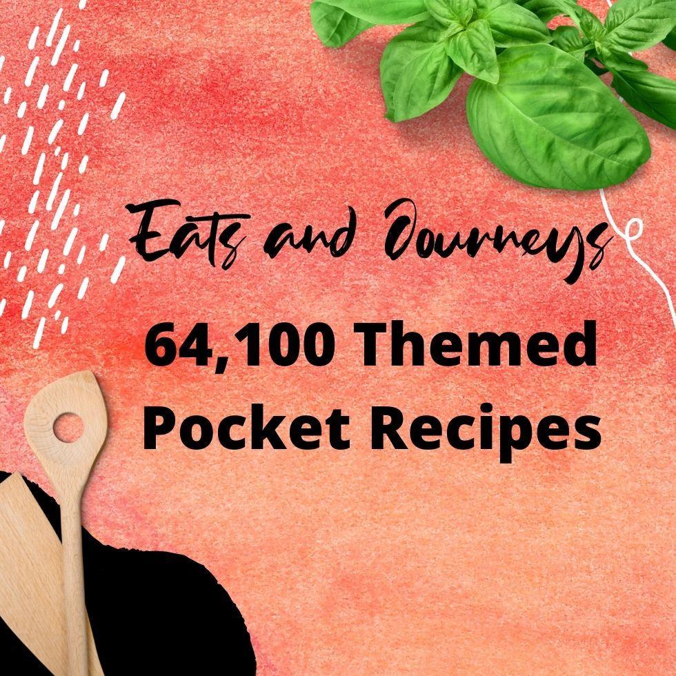 64,100 Themed Pocket Recipes