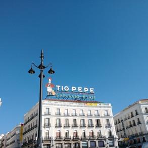 Tio Pepe Square in Madrid, Spain