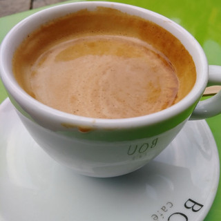 Spain.. Barcelona Coffee at Bou Café in