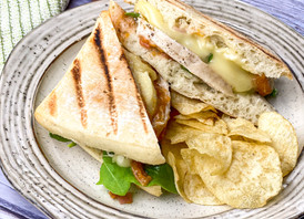 Grilled Chicken & Brie Panini
