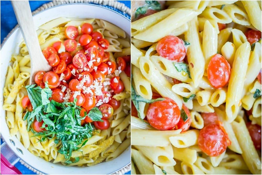 Coconut Pasta [Instant Pot®], vegetarian recipes and more