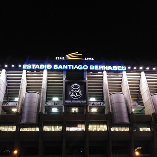 Spain.. Estado Santiago Bernabeu to see