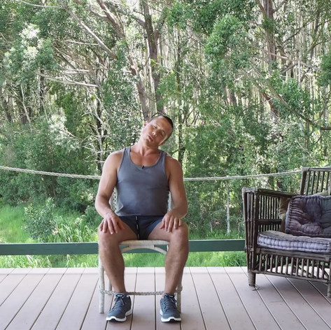Desk Exercise- Seated Head Tilts