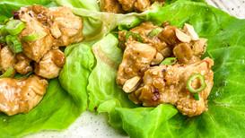 Cashew Chicken Wraps