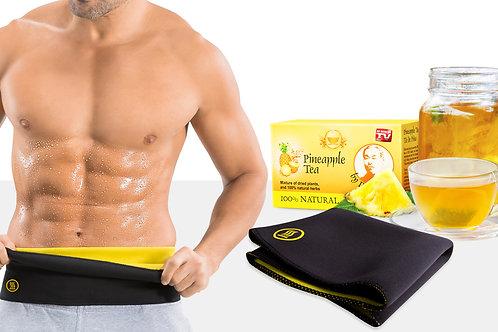 Hot Belt Men + Dr. Ming's Pineapple Tea (15-pack)