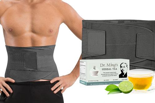 V Shape Trainer Men + Dr. Ming's Green Tea (30-pack)
