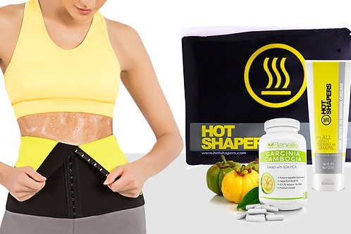 Hot Belt Waist Cincher + HV Thermo Active Gel (4 oz) + Benelife GC