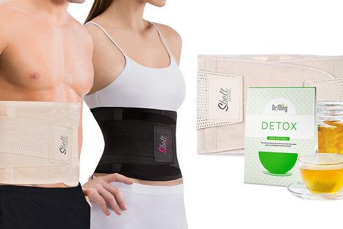Sbelt Unisex + Dr. Ming's Detox Tea (20 Bags)