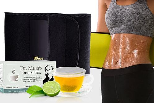 Hot Belt Women 2.0 + Dr. Ming's Green Tea (30-pack)
