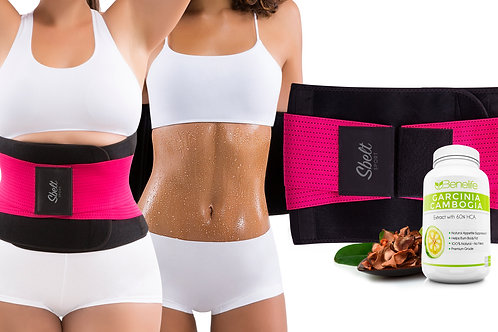 Sbelt Sport with Neoprene (Pink) + Benelife GC